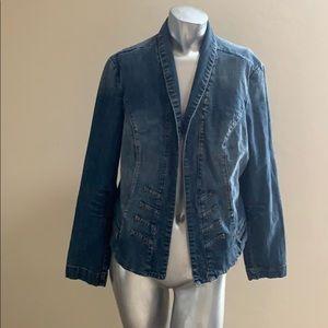A.N.A. Blue Jean Jacket size XL